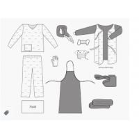 Anti-epidemic clothing set No. 18